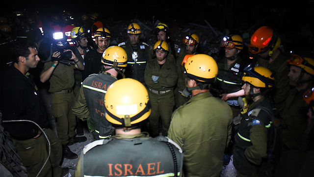 Home Front soldiers sent to assist in search-and-rescue missions (Photo: IDF Spokesperson)