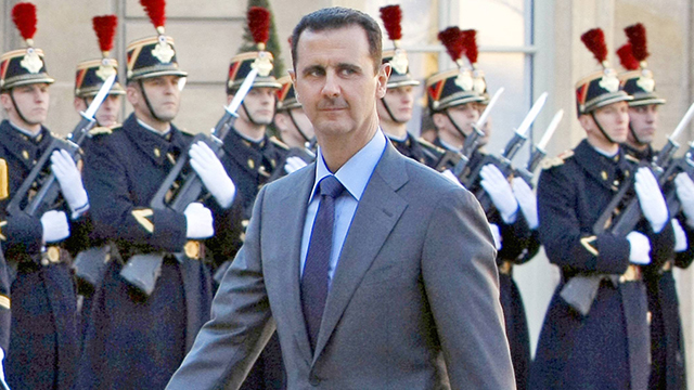 Bashar Assad was only of use to Israel while he kept the northern border quiet. (Photo: AP)