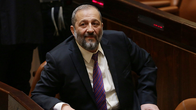 Shas leader Aryeh Deri - decision was part of coalition agreement with his party (Photo: Olivier Fitoussi)