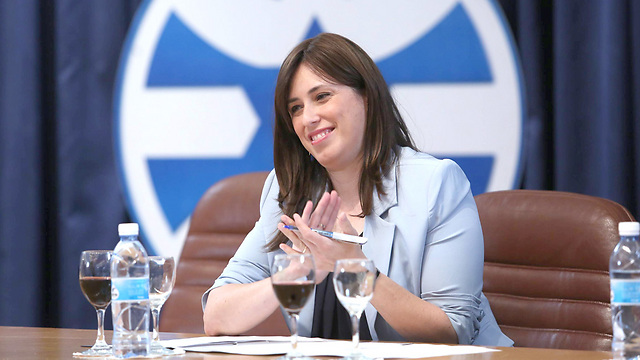Tzipi Hotovely. If we have a Bible verse, we don't need a policy (Photo: Gil Yohanan)