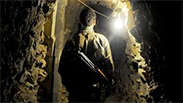 A tunnel dug from Gaza to Israel