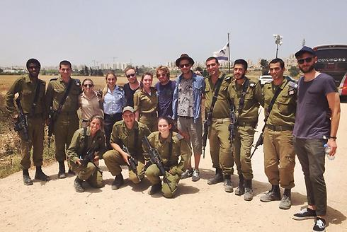One Republic with Iron Dome battery