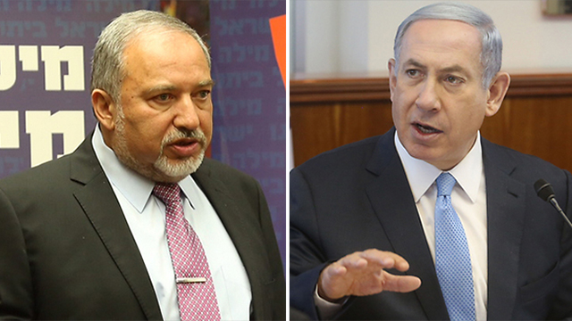 'We need to replace the prime minister,' says Lieberman (Photos: Mark Israel, Gil Yohanan)