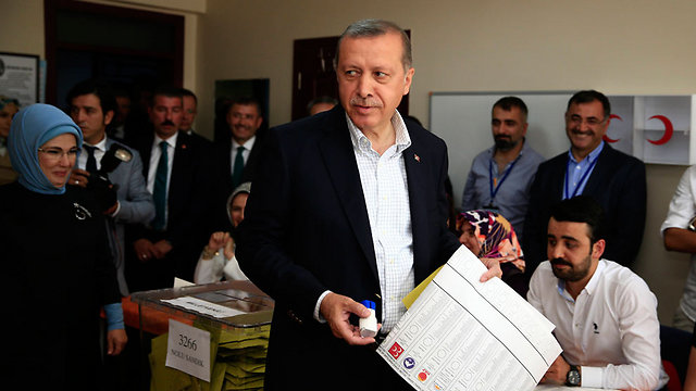 Early results suggest that Erdogan's party suffered a major setback in today's elections. (Photo: AP) (Photo: AP)