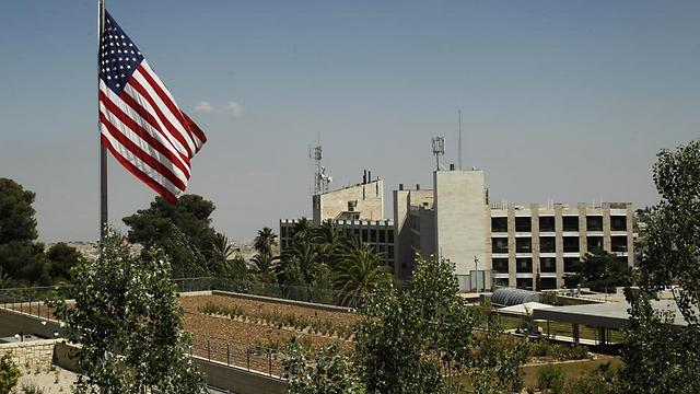 The US Consulate General in Jerusalem, where the new embassy is set to be housed (Photo: Atta Awisat)