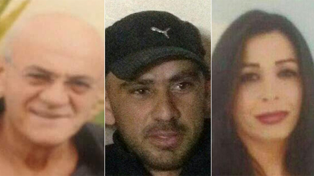 Three of the victims of Arab sector violence over the past week