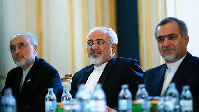 Iran's nuclear negotiating team (Photo: AP)