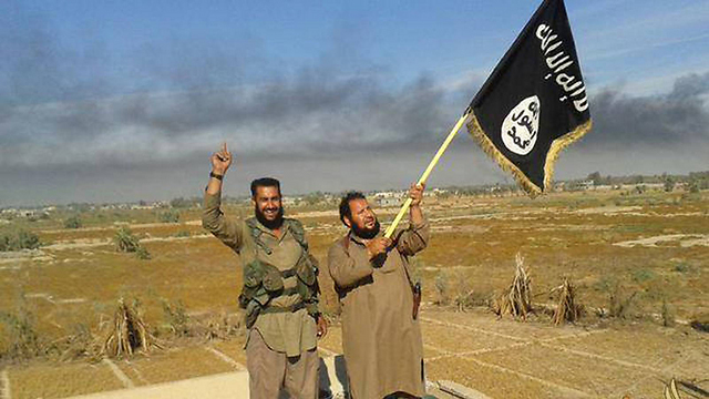 Islamic State fighters. (Photo: AP) (Photo: AP)