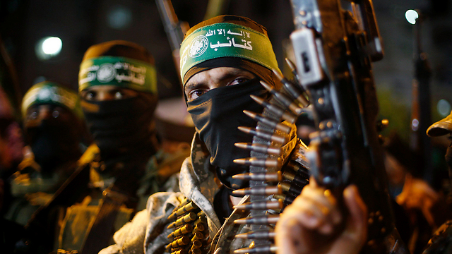 Hamas militants—they don't consider themselves terrorists. (File photo: Reuters) (Photo: Reuters)