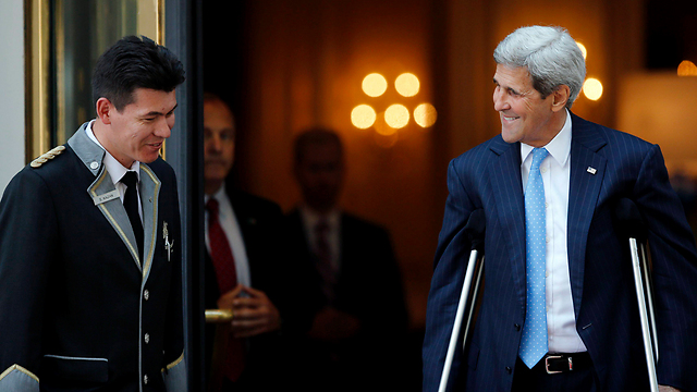 US Secretary of State John Kerry 'hopeful' for a deal on Monday. (Photo: Reuters) (Photo: Reuters)