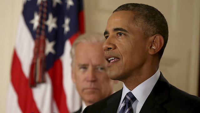 Barack Obama with Vice President Barack Obama announcing the deal (Photo: Reuters)
