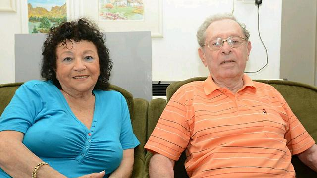 The Golder couple (Photo: George Ginsburg)