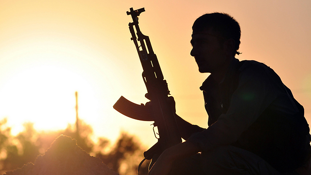 A Kurdish YPG fighter. (Photo: Reuters) (Photo: AFP)