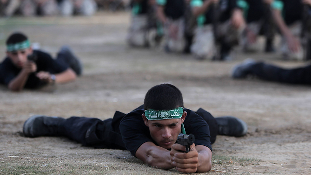 Hamas summer camp for youth (Photo: AP)