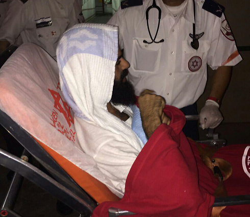 Allaan during his transfer to Brazilai Hospital.
