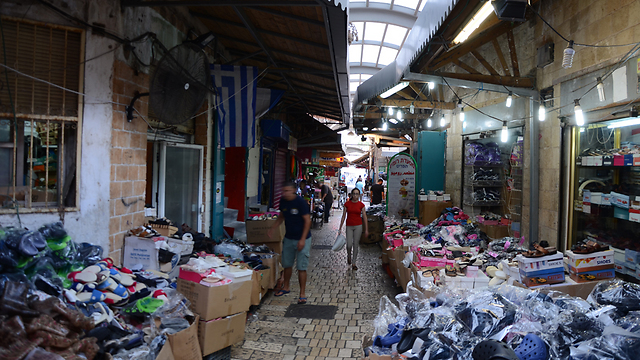 Acre's market, where shop keepers are hoping to stay open on Yom Kippur. (Photo: Mohammed Shinawi) (Photo: Mohammed Shinawi)