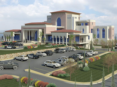 Rending of planned $13 million palace for Abbas