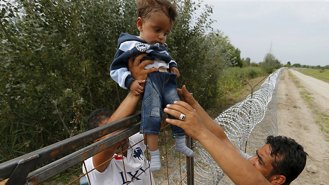 A border fence in Hungary (Photo: Reuters)