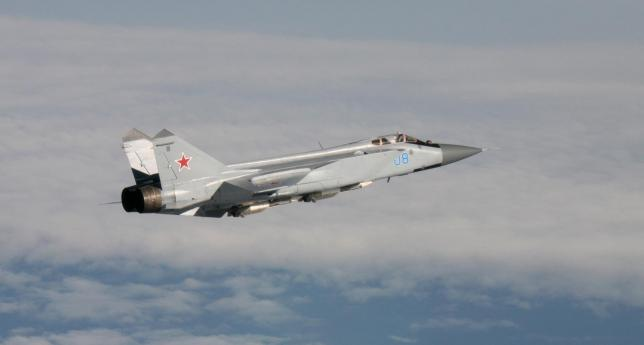 A Russian Air Force Mig 31 (Photo: Reuters)