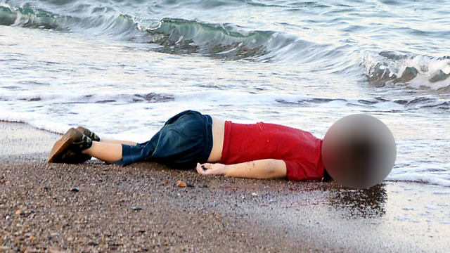 The world was shocked by images of 3-year-old Alan Kurdi, washed up on a beach in southern Turkey (Photo: EPA) (Photo: EPA)