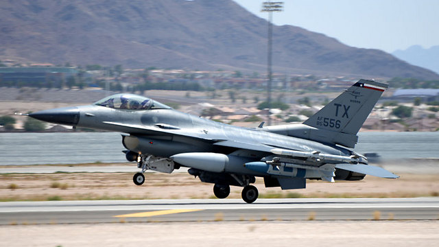 A fighterjet takes off on a training mission (Photo: IDF Spokesperson's Unit)