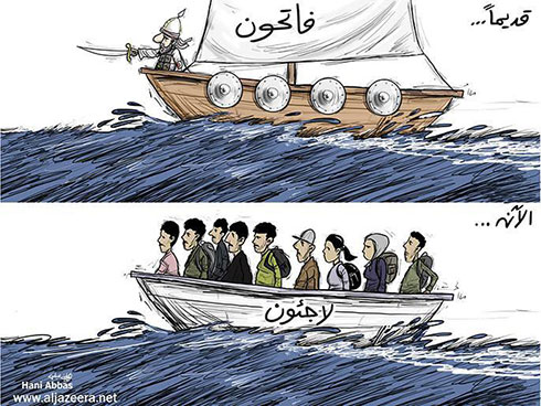 The Muslims once came to Europe as invaders, now they're coming as refugees.