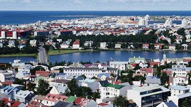 View of Reykjavik (Photo: Getty Image Bank)