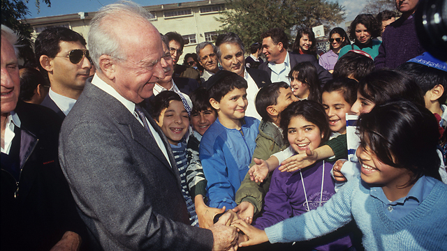 Rabin's contribution to Israeli society after his death could be even greater than his contribution during his life (Photo: Meir Fartush)