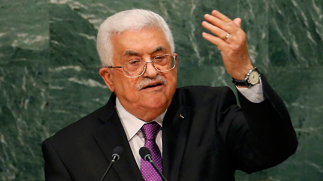 Mahmoud Abbas at the UN (Photo: Reuters)