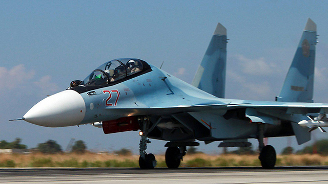 Russian fighter jet in Syria (Photo: EPA)