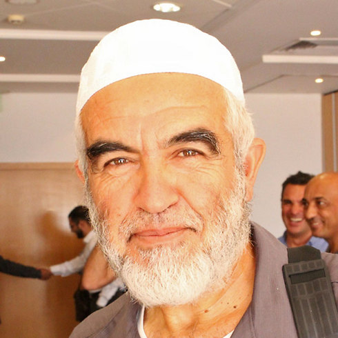 Raed Salah, leader of the northern branch of the Islamic Movement in Israel (Photo: Mohammed Shinawi)