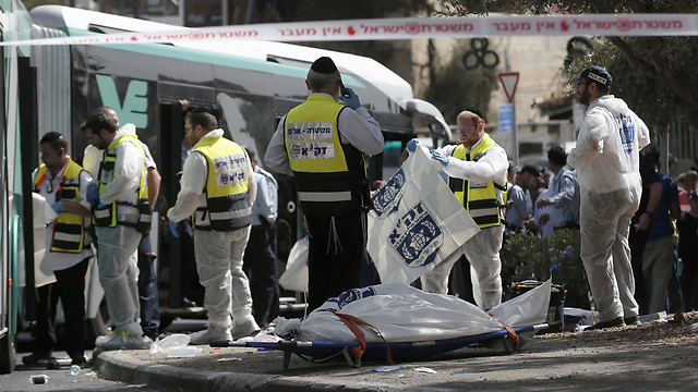 Armon Hanatziv terror attack (Photo: AFP) (Photo: AFP)