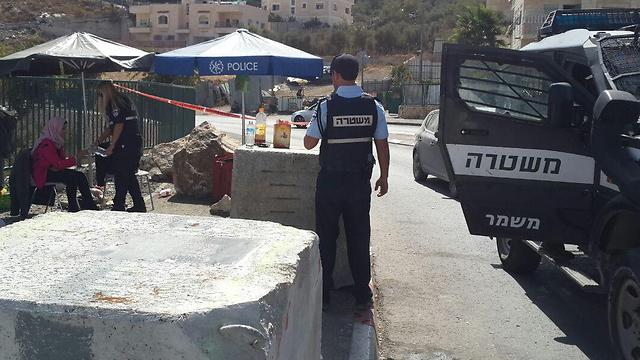 Checkpoint in East Jerusalem (Photo: Elior Levy)
