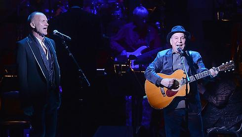 Paul Simon and Sting. Which one doesn't want to come to Israel? (Photo: Getty Images)
