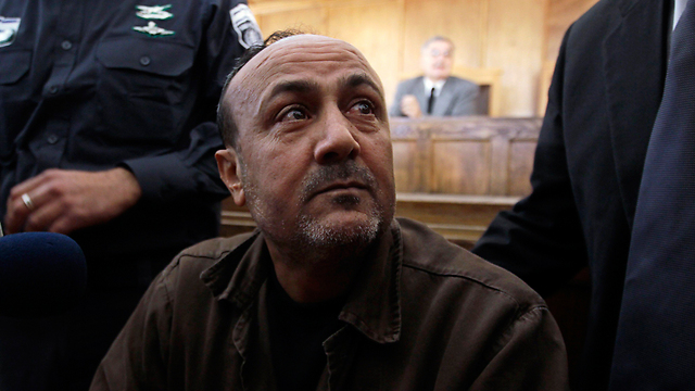 Marwan Baraghouti. The only Fatah candidate who currently beats Hamas. (Photo: Reuters)