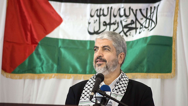 Hamas leader Khaled Mashal. Looking to create a certain balance against Israel. (Photo: AFP)