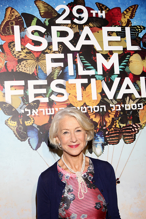 Helen Mirren opens the Israel Film Festival in Los Angeles (Photo: Getty Images)