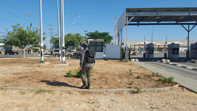 Jalame Checkpoint outside of Jenin (Photo:Ministry of Defense Crossings Authority) (Photo: Ministry of Defense Passages Authority )