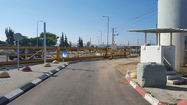 Jalame Checkpoint outside of Jenin (Photo:Ministry of Defense Crossings Authority)
