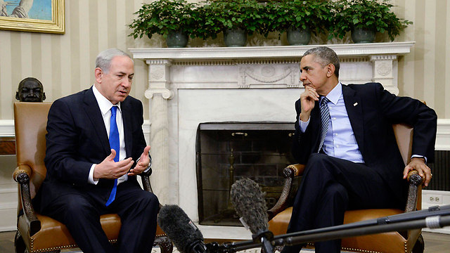 Netanyahu and Obama (Photo: EPA)