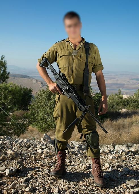 Samal Ziyad, who serves as a combat soldier in the West Bank.