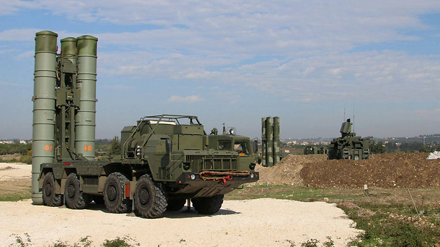 S-400 batteries deployed in Syria (File photo: AFP/Russian Defense Ministry)