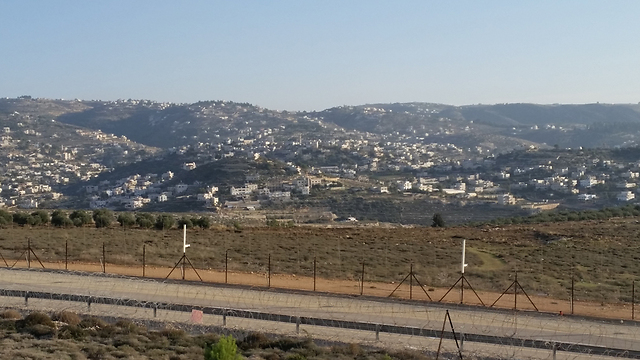 Gush Etzion in the West Bank, where several settlements were cut off from electricity after a suspected attack on a power line (Photo: Eli Mendelbaum)