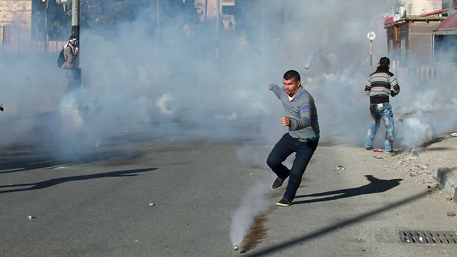 Clashes between Palestinians and the IDF in Bethlehem (Photo: Reuters)