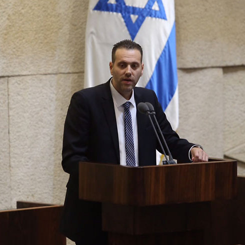 Sternhell is trying to create the impression that MK Miki Zohar represents Israel. In fact, he doesn't even represent the Right (Photo: Gil Yohanan)