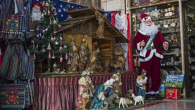 Christmas in Bethlehem (Photo: Getty Images)