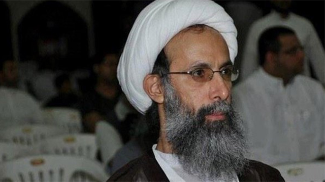 Dissident Shi'ite cleric Nimr al-Nimr. Executed by Saudia Arabia.
