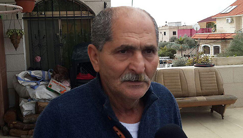 """The attackers father. """"I want to hear that he's in the Police's hands."""" (Photo: Hassan Shaalan)"""