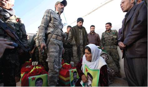 Mother mourns her martyr son.
