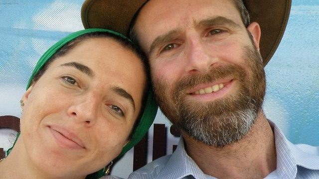 Dafna Meir and her husband, Natan